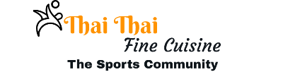Thai Thai Fine Cuisine – The Sports Community